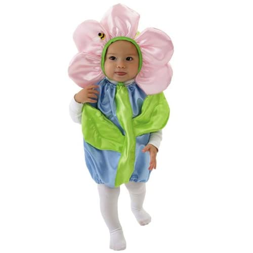 Mullins Square Flower Pot Baby Costume Blue