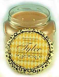 Tyler Candles - Warm Sugar Cookie Scented Candle - 22 Ounce 3 Wick Candle