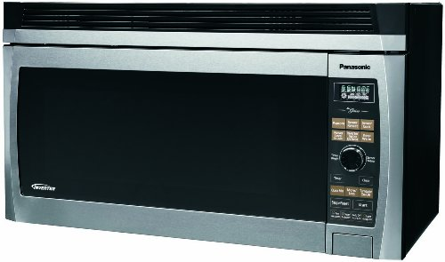 Panasonic Nn Sd277sr 2 Cubic Foot 1200 Watt Stainless Steel Oven The Range Microwave