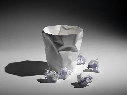essey ビンビン Bin Bin Wastebasket 白 ES-01504