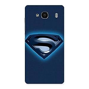 Ajay Enterprises Dayer Super Blue Back Case Cover for Redmi 2