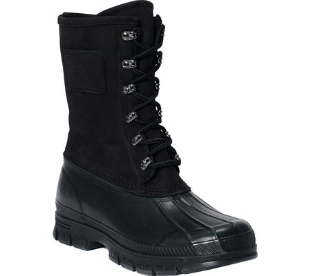 Polo Ralph Lauren Men's Romford S Winter Boot, Black/Black, 13 D US