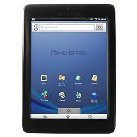 Pandigital Novel 2 GB 7-Inch WiFi Multimedia Tablet and Color eReader (Black) R70E200