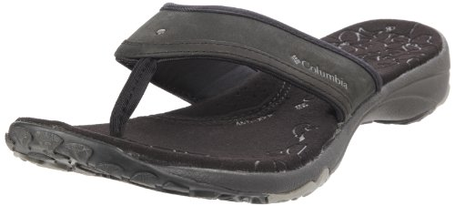 Columbia Women's Kambi Black Flip-Flop BL2391 7.5 UK