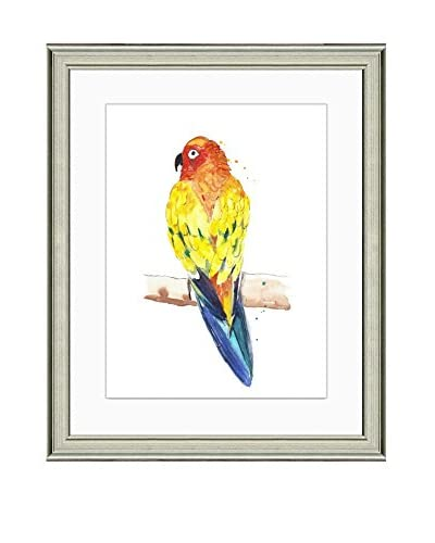 Art Source Watercolor Parrot Print I, Multi
