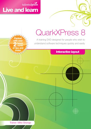 QuarkXPress 8.0 Training DVD - Interactive Layout (Mac/PC DVD)