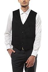 Van Heusen Men Slim Fit Outerwear_VDWC514E06328_38_Black