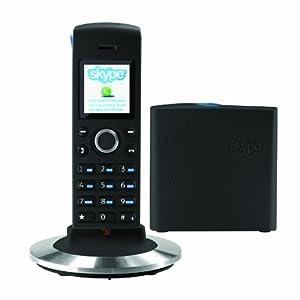 RTX DUALphone 4088 Skype and UK Landline Phone - Black (No PC Required)