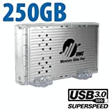 "250GB OWC Mercury Elite Pro ""Classic"" USB 3.0 7200RPM 8MB Cache Storage Sol ...."