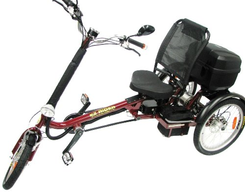 Buy Low Price International Surrey Company EZ Rider Electric Tricycle (B0038LPWWO)