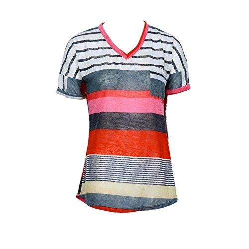 sunnywill mode frauen sommer locker top kurzarm bluse. Black Bedroom Furniture Sets. Home Design Ideas