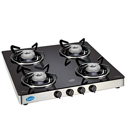 Toughened Glass Gas Cooktop (4 Burner)