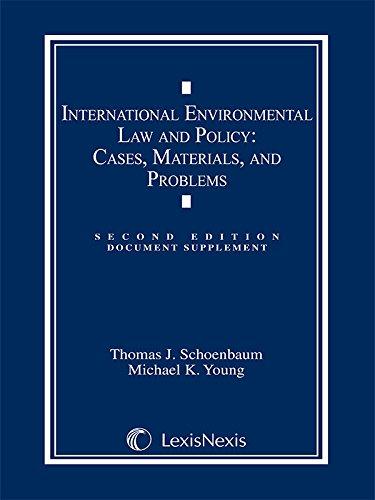 International Environmental Law: Document Supplement