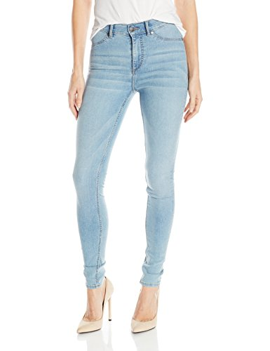 Cheap Monday High Spray Stone Bleach Jeans da Donna, Blu (Stone Bleach), W30