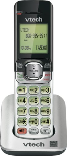 Vtech DECT CS6509 Accessory Handset for the CS6519-# and CS6529-# 6.0 Expandable Cordless Phone System