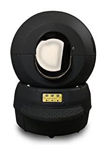Litter Robot II Bubble Unit - Automatic Self Cleaning Litter Box, Black