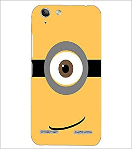 PrintDhaba Eye Pattern D-1062 Back Case Cover for LENOVO A6020a46 (Multi-Coloured)