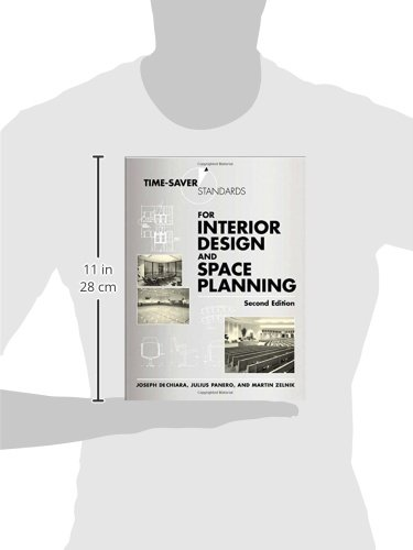 Time Saver Standards For Interior Design And Space Planning 2nd Edition Business Industrial