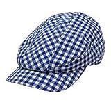 ヨネックス 帽子 ギンガムチェック ハンチングキャップ GC037 グリーン フリー(58cm)