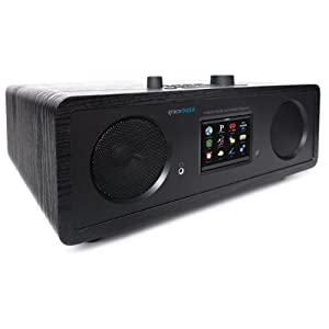 Grace Digital GDI-IRC7500 Stereo Wi-Fi Music System with 3.5-Inch Color Display (Black)