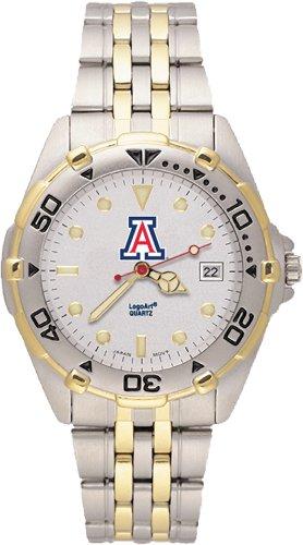 Ncaa Arizona Wildcats All Star Watch Stainless Steel Bracelet