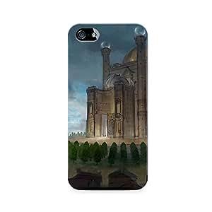 Motivatebox - Apple Iphone 4/4s Back Cover - Imaginary Castlr Polycarbonate 3D Hard case protective back cover. Premium Quality designer Printed 3D Matte finish hard case back cover.