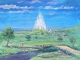 Harrison Ellenshaw Bridge To The Castle Disneyland Original Art