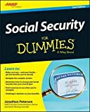 img - for Jonathan Peterson: Social Security for Dummies (Paperback); 2015 Edition book / textbook / text book