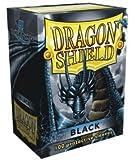Dragon Shield Black Standard 100 Card Sleeves
