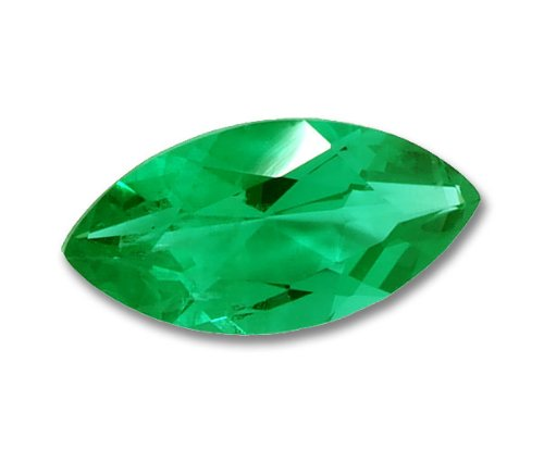 5x3mm Marquise Gem Quality Chatham-Created Cultured Emerald .14-.18 Ct.