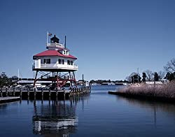 Drum Point Lighthouse Photograph - Beautiful 16x20-inch Photographic Print by Carol M. Highsmith