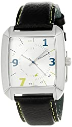 Fastrack OTS Core Analog Silver Dial Mens Watch - NE9336SL02A