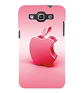 printtech Apple Back Case Cover for Samsung Galaxy Quattro i8552::Samsung Galaxy Quattro Win i8552
