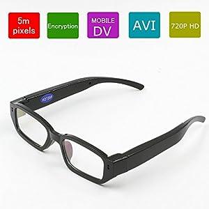 Eovas 8GB Dvr Digital Camera Glasses Eye wear Sunglasses 720P