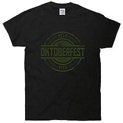 Oktoberfest Vintage Beer Logo T-Shirt