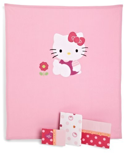 Hello Kitty Baby Bedding 7806 front