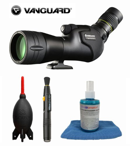 Vanguard Endeavor Hd 82A Scope + Pen Cleaning System + Giotto'S Air Blower + Cleaning Solution + Cleaning Cloth