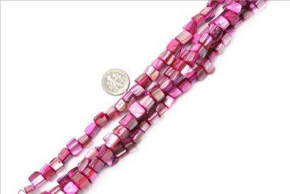 8mm--9mm freefrom gemstone plum shell beads strand 15