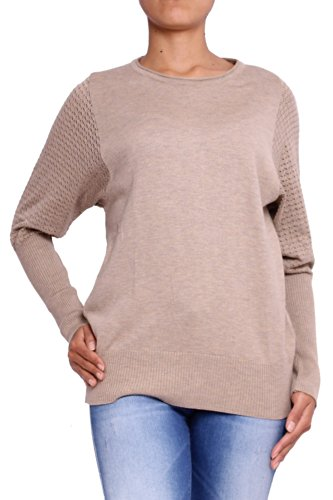 ANTA Q'ULQI - Maglione a maglia per donna - beige, L