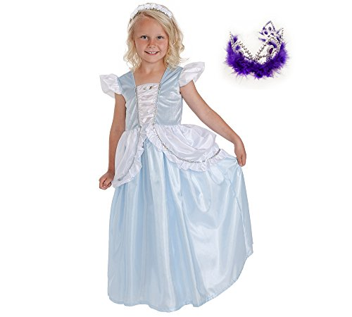 Cinderella Princess Gown and Purple Crown Age 1-3
