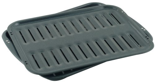 Whirlpool 4396923RW Porcelain Broiler Pan and Grid (Broiler Pan For Electric Oven compare prices)