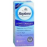 Replens Long-Lasting Vaginal Feminine Moisturizer 8 Prefilled Applicators