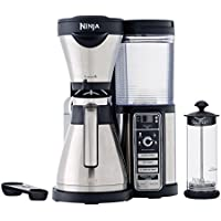 Ninja Coffee Bar Auto-iQ Brewer with Glass Carafe (CF080) - Factory Reconditioned