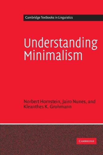 Understanding Minimalism Paperback (Cambridge Textbooks in Linguistics)