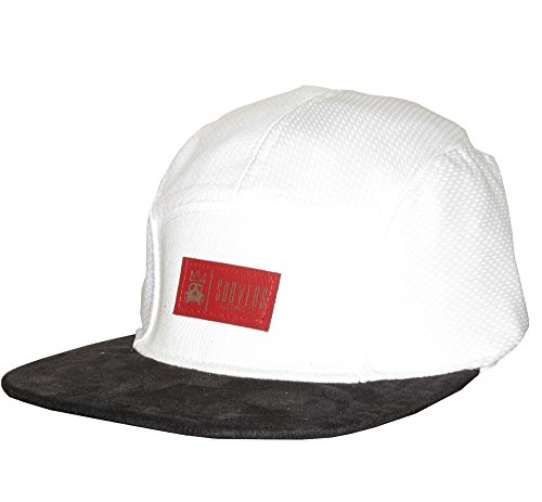 """Subvers Clothing Co. """"Fish Scale"""" Mesh & Sude 5 Panel Camp Hat Cap"""