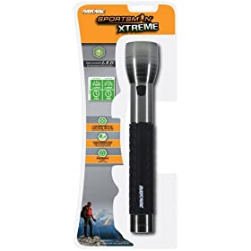 Rayovac SE4W3C Sportsman Xtreme 3C 4-Watt LED Metal Flashlight