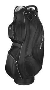 Wilson Staff Cart Plus Golf Bag, Black