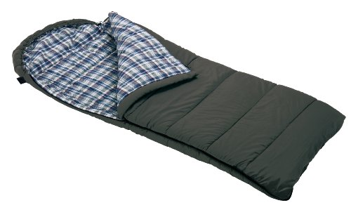 Wenzel Tundra Minus 10-Degree Rectangular Hooded Sleeping Bag (Green) front-419838