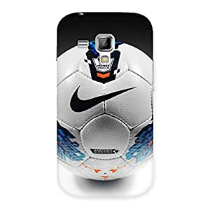 Ajay Enterprises check on football Back Case Cover for Galaxy S Duos