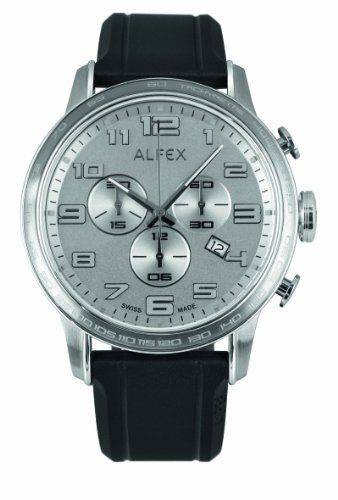 Alfex Men's Rubber Quartz Watch 5672_053